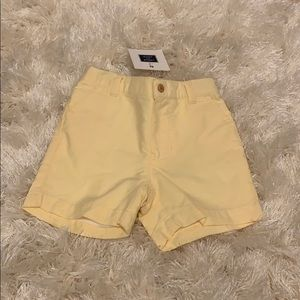 Pastel yellow baby boys shorts size 3-6mos NWT